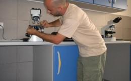 Montaggio Microscopio