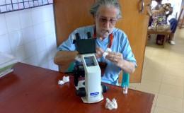 Pulizia microscopio