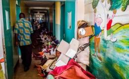 Kagadi Hospital – Pazienti HIV in attesa